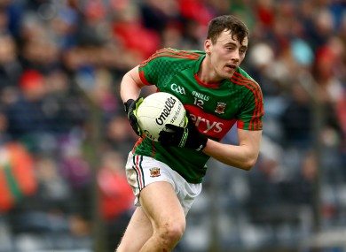 Diarmuid O'Connor is back in the Mayo starting team.