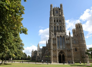 Ely Cathedral is one of around 47,000 churches in the UK.