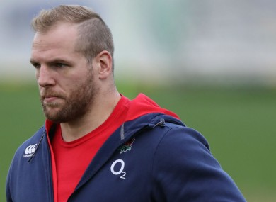 England and Wasps' James Haskell