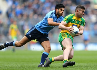 Patrick McBrearty and Cian O'Sullivan will be in opposition next Saturday.