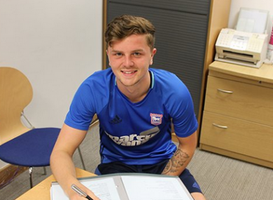 McDonnell has been in Ireland with Ipswich on their pre-season training camp.