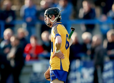 Clare hurler Aidan McGuane will be chasing an All-Ireland title.