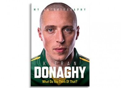 The front cover of Donaghy's new book.