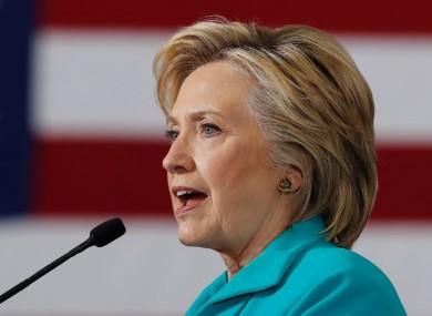 Clinton in Nevada