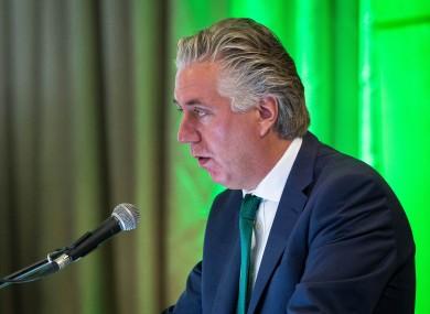 FAI chief executive John Delaney (file photo).