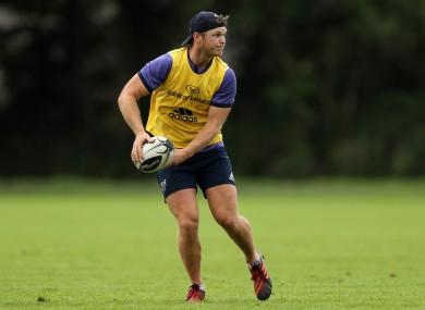 Tyler Bleyendaal will start in Cork tomorrow.