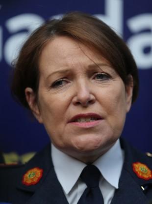 Garda Commissioner Noirin O'Sullivan.