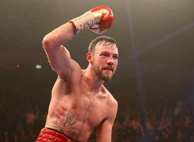 Former WBO middleweight champion Andy Lee.