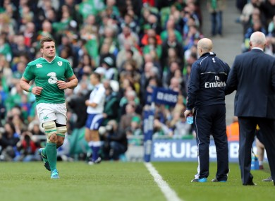 CJ Stander believes the next step is a Lions call up.