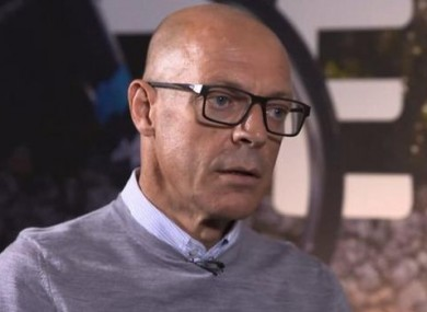 Brailsford: first public interview since TUE controversy erupted.
