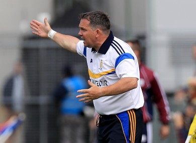 Davy Fitzgerald's spell as Clare manager has come to an end.