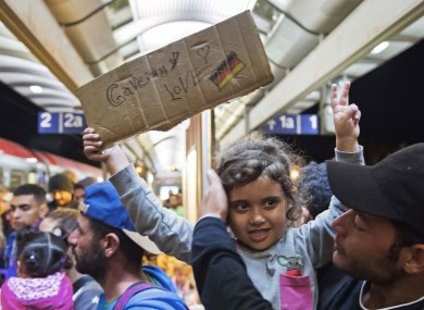 Merkel was praised at first for her policy to let thousands of migrants into Germany, but has faced criticism over integration difficulties.