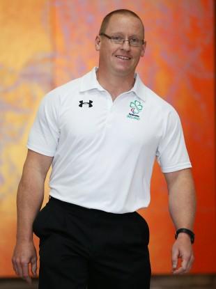 Irish canoeist Patrick O'Leary.