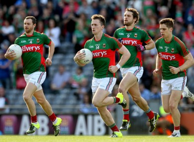 It's a landmark game for Mayo's Keith Higgins tomorrow.