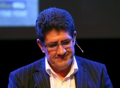 Journalist Paul Kimmage.