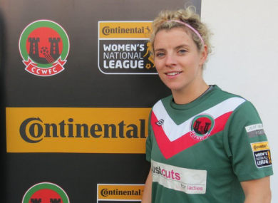 Cork City Women announced the signing today.
