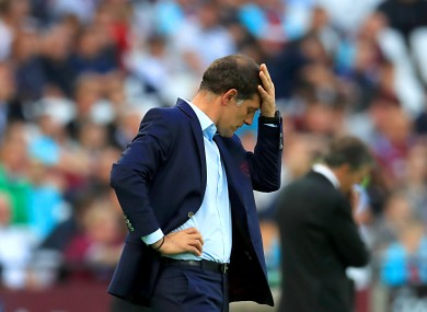 It's been a difficult start to the season for Bilic and his players.