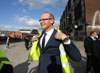 Housing Minister Simon Coveney