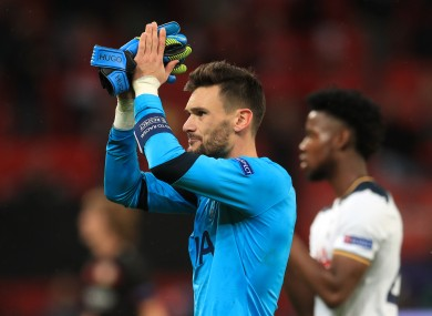 Lloris pulled off a string of incredible saves.