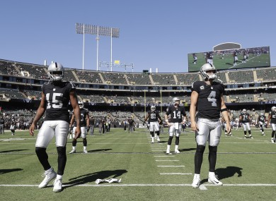 Michael Crabtree and Derek Carr are the epitome of the 'Just Win Baby' mantra.