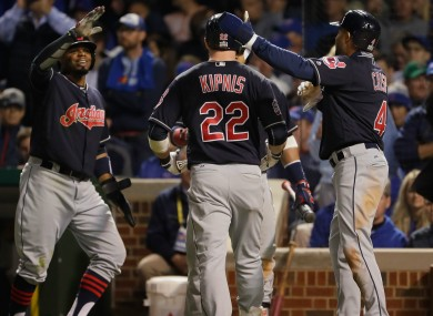 Cleveland Indians could seal victory later tonight.