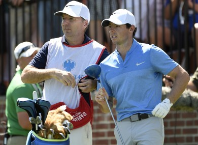 Fitzgerald and McIlroy: working together for 18 years.