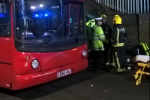 26 people injured after top of bus crashes into a London bridge