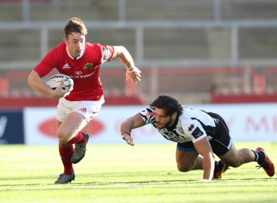Sweetnam: man of the match against Zebre.