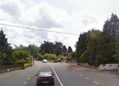 File image of the area near where the crash happened.