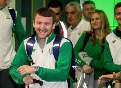 Barnes: three-time Olympian turned pro last month.