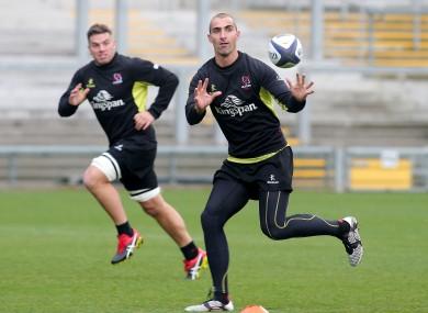 Pienaar took part in training earlier today.
