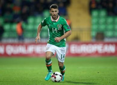 Wes Hoolahan was influential as Ireland beat Moldova on Sunday.