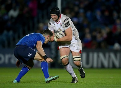 Tuohy has played 136 times for Ulster.