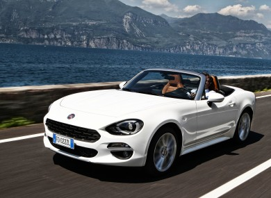Fiat's 124 Spider roadster takes its inspiration from the 1960s