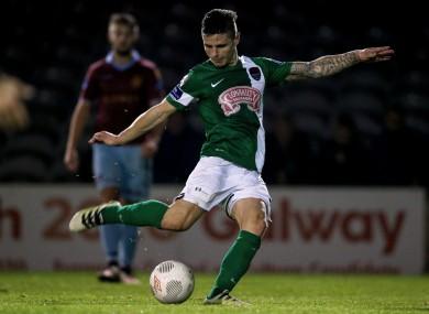Gavan Holohan joined Cork from Drogheda in 2014.
