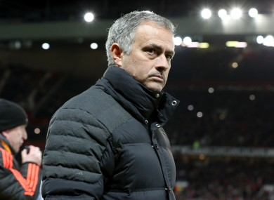 Mourinho will be banned from the touchline for