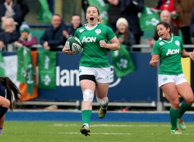 Briggs: missed the games against England and Canada through injury.