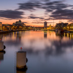 Pawel Zygmunt of Dublin does not generally shoot cityscapes but couldn't resist the mirror image of the quays on a quiet Liffey.