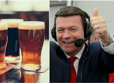 Alan Kelly, and some craft beers.