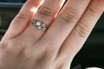 This woman's powerful status about her engagement ring being called 'pathetic' is going viral
