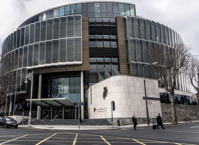 File photo of the Criminal Courts of Justice, Dublin