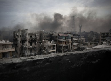 A 2011 file picture from Aleppo.