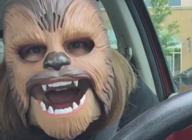 Chewbacca Mom.