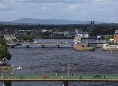 File photo of Limerick city.