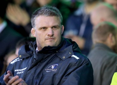 Nathan White at the Sportsground.