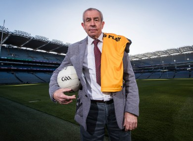 Ulster and Fermanagh football manager Pete McGrath.