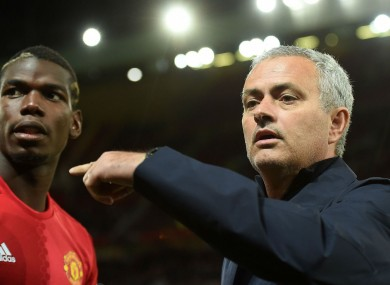 Pobga has been given more freedom by Mourinho in recent weeks.