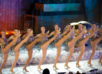 File photo of the Rockettes