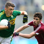 There's always caution when discussing promising minors but Clifford looks to be an awesome talent with a rich future. Hit 2-5 in St Brendan's Hogan Cup final win and then 2-34 in six games for the Kerry minors, including THAT goal against Galway.<span class=