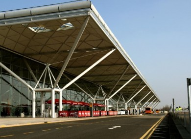 Stansted Airport in Essex